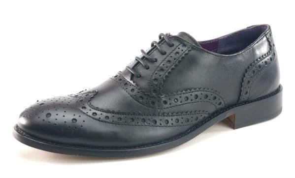 Frank James Redford 1649 Black Shoes